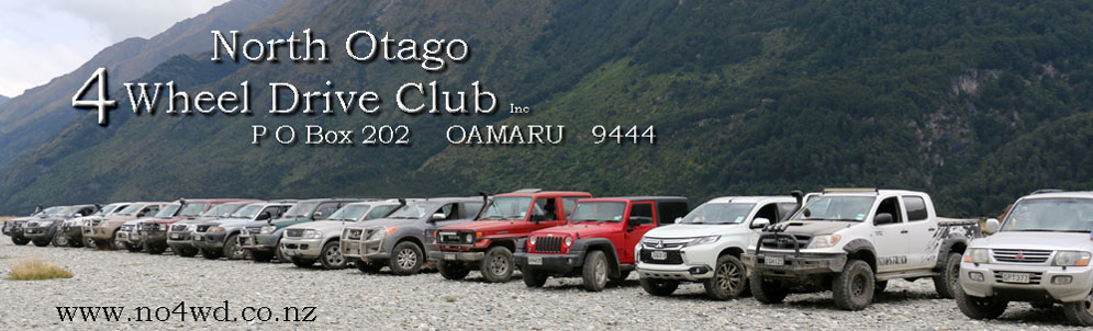 North Otago 4 Wheel Drive Club Inc